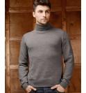 Водолазка Merino Wool мужская. Цвет темн…